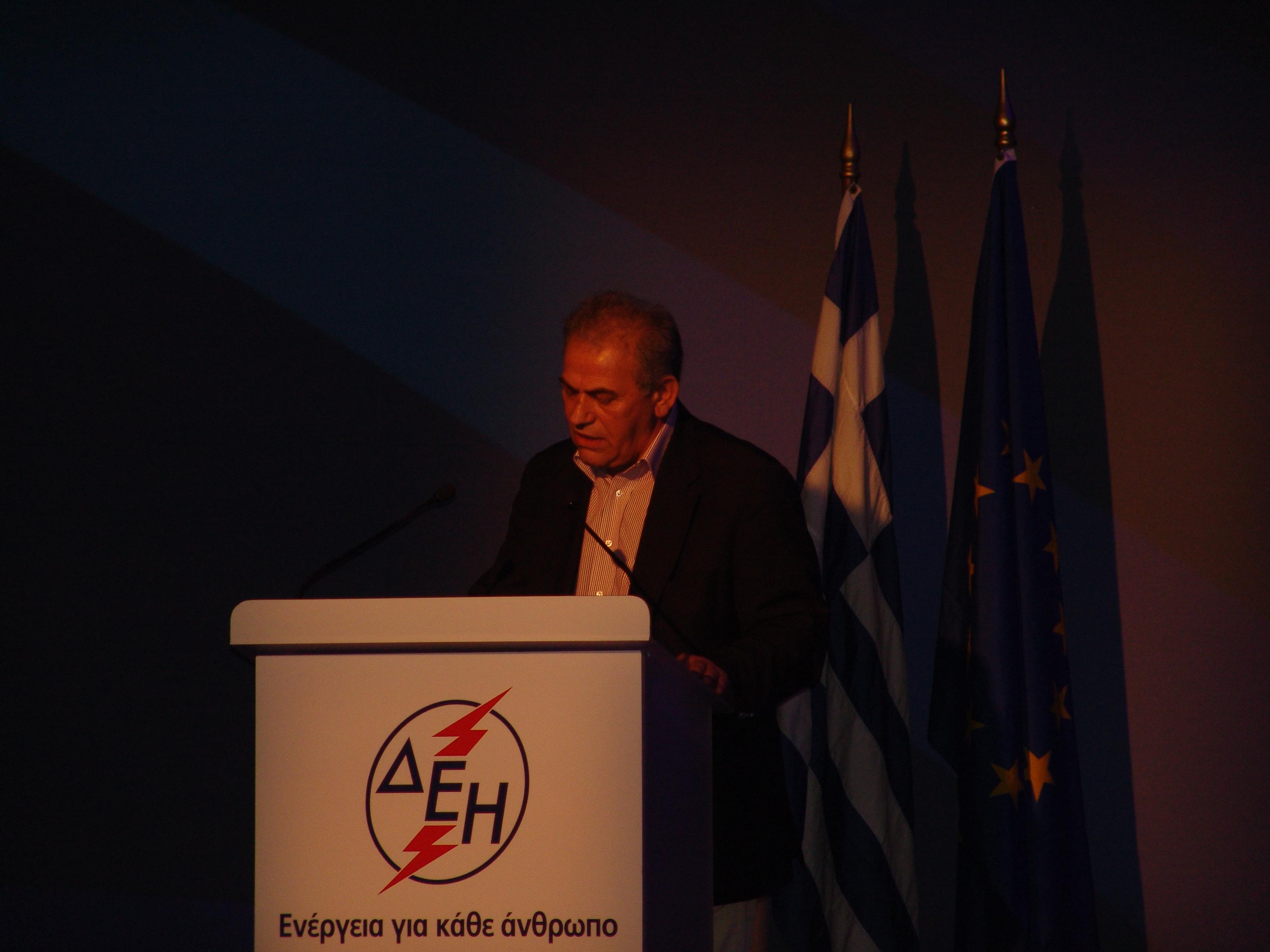Ομιλία προέδρου ΓΕΝΟΠ/ΔΕΗ στη Γ.Σ. Μετοχων της ΔΕΗ