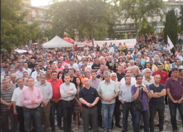 Η Δυτική Μακεδονία λέει ΟΧΙ στη διάλυση της ΔΕΗ