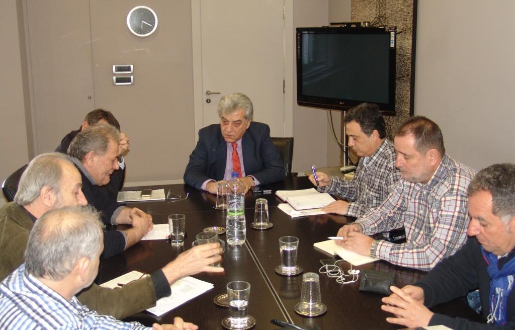 Συνάντηση του προεδρείου της ΓΕΝΟΠ με τον πρόεδρο της ΔΕΗ