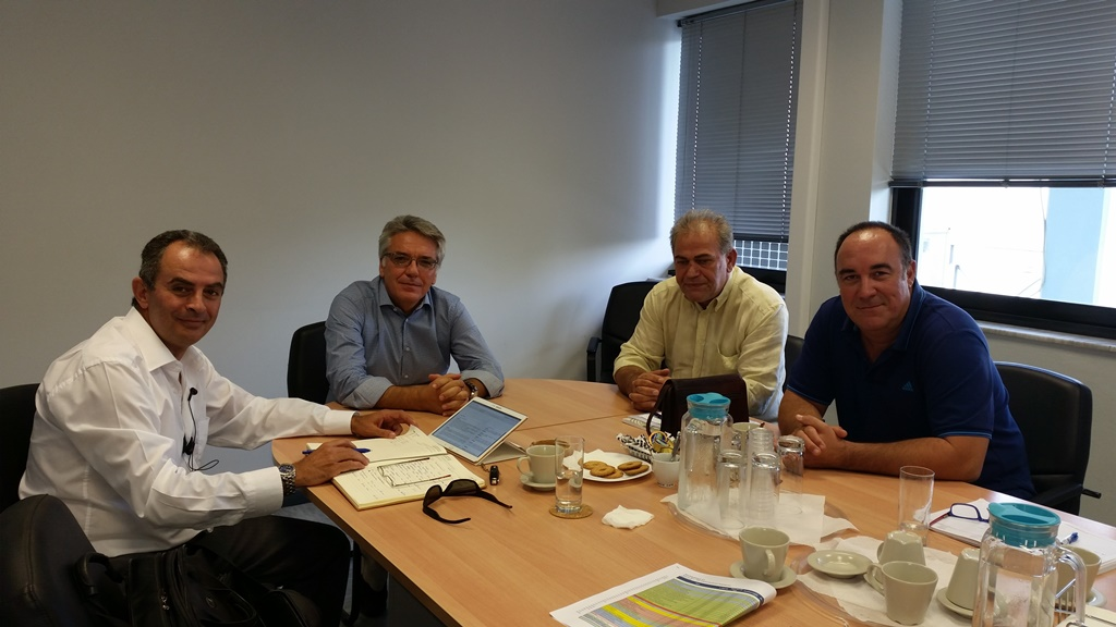 Με τον Διευθύνοντα Σύμβουλο της ΔΕΗ Ανανεώσιμες κ. Μιχαήλ Βερροιόπουλο συναντήθηκε το Προεδρείο της ΓΕΝΟΠ/ΔΕΗ-ΚΗΕ