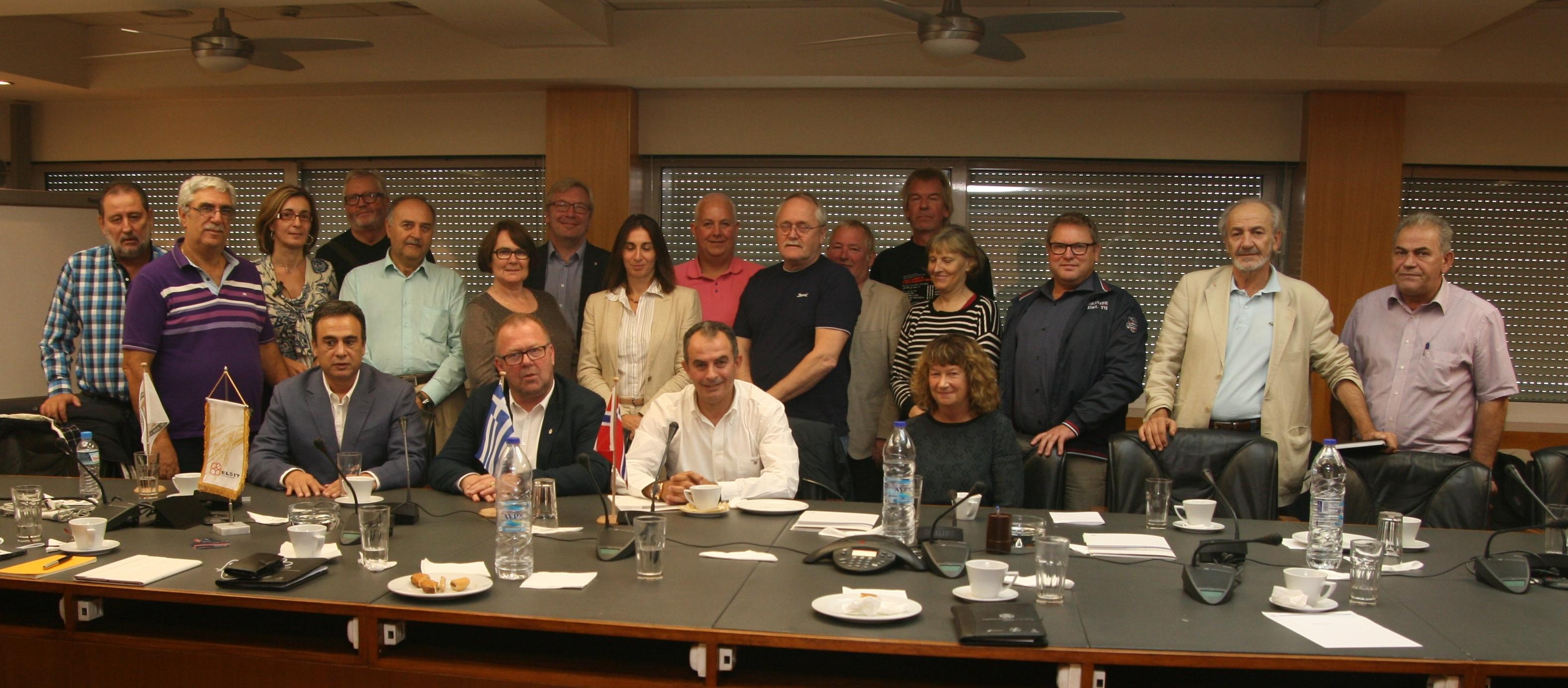 Συνάντηση ΓΕΝΟΠ με το νορβηγικό συνδικάτο εργαζομένων στην Ενέργεια