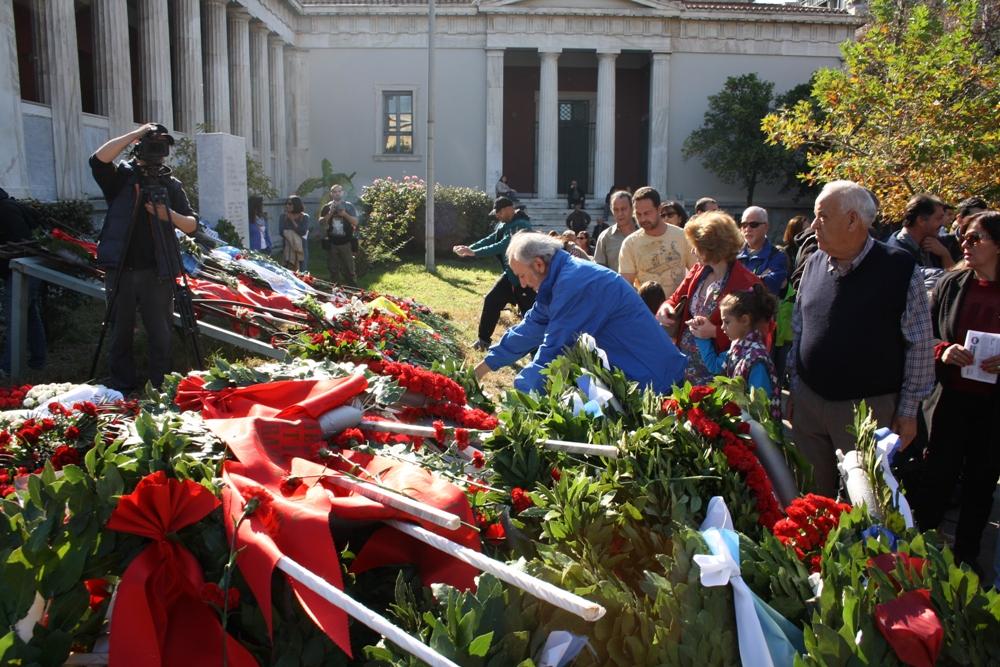 45 χρόνια από την παλλαϊκή εξέγερση στο Πολυτεχνείο