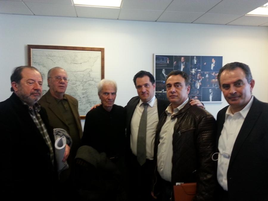 Συνάντηση ΓΕΝΟΠ/ΔΕΗ και ΠΟΣ/ΔΕΗ με τον αντιπρόεδρο της ΝΔ για το ασφαλιστικό
