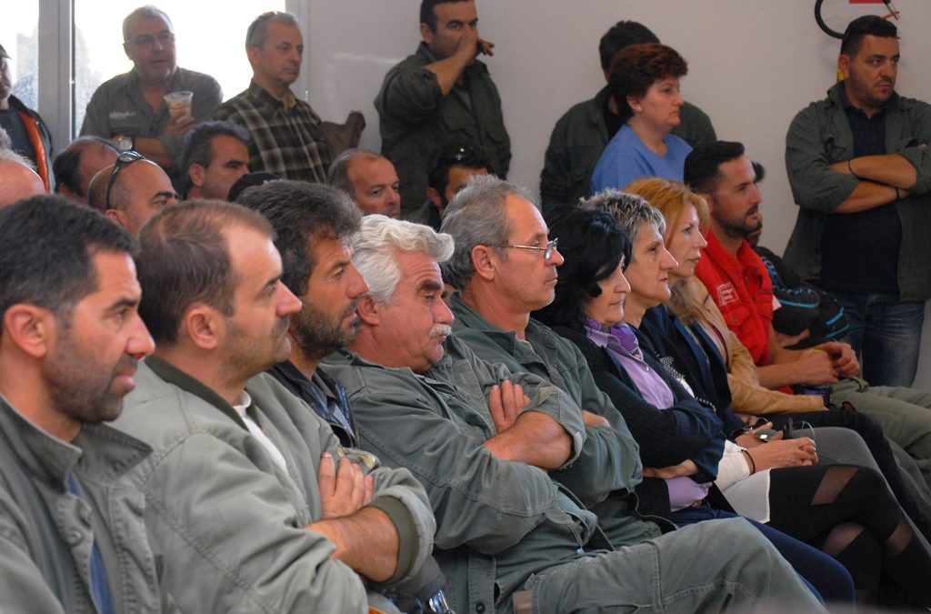 Ενημέρωση σε εργασιακούς χωρους στη Δυτ. Μακεδονία – Φωτογραφίες