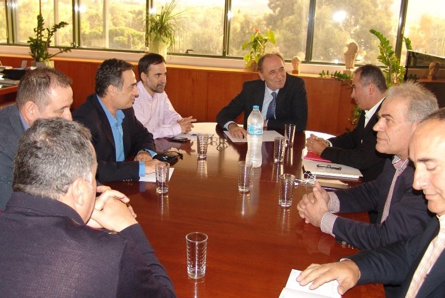 Συνάντηση ΓΕΝΟΠ με τον νέο υπουργό Περιβάλλοντος & Ενέργειας