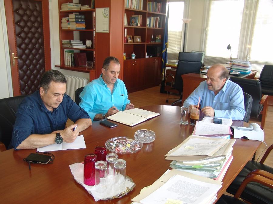 Συνάντηση της ΓΕΝΟΠ με τον Διοικητή του ΕΦΚΑ  κ. Μπακαλέξη Αθανάσιο