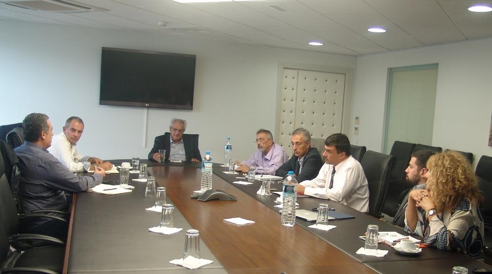 Συνάντηση με τη διοίκηση του ΔΕΔΔΗΕ