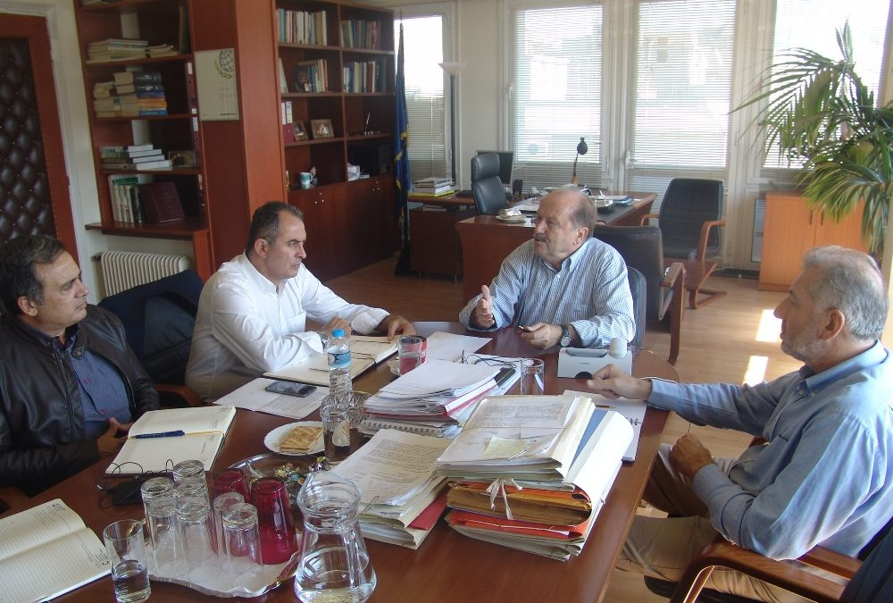 Συνάντηση με τον Διοικητή του Ενιαίου Φορέα Κοινωνικής Ασφάλισης (Ε.Φ.Κ.Α)