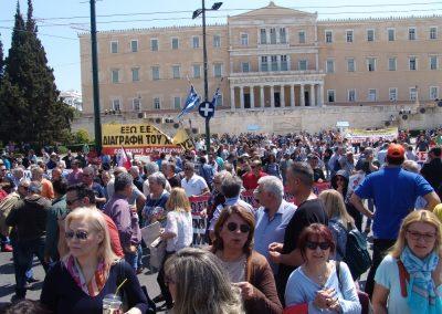 Συλλαλητήριο ενάντια στο Ξεπούλημα της ΔΕΗο