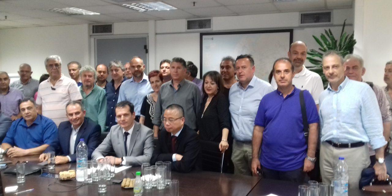 Δηλώσεις μετά την υπογραφή της ΕΣΣΕ στον ΑΔΜΗΕ