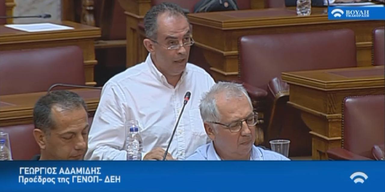 Πρόεδρος ΓΕΝΟΠ/ΔΕΗ: Ζητάμε την ίδια προστασία και για τους εργολαβικούς εργαζόμενους