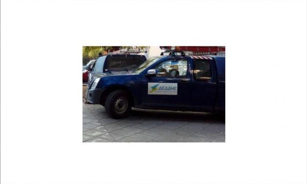 Επίθεση εναντίον συνεργείου του ΔΕΔΔΗΕ στη Λάρισα