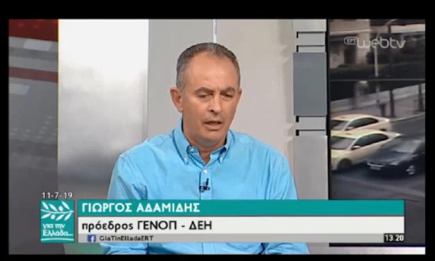 Πρόεδρος ΓΕΝΟΠ/ΔΕΗ: Oι τεχνικοί ΑΔΜΗΕ και ΔΕΔΔΗΕ στη «μάχη» για την αποκατάσταση της ηλεκτροδότησης στη Χαλκιδική