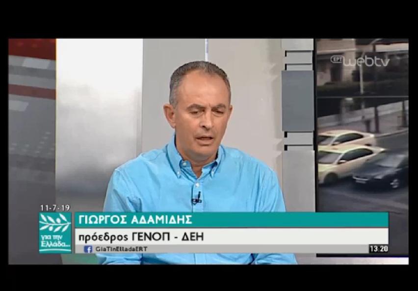 """Πρόεδρος ΓΕΝΟΠ/ΔΕΗ: Oι τεχνικοί ΑΔΜΗΕ και ΔΕΔΔΗΕ στη """"μάχη"""" για την αποκατάσταση της ηλεκτροδότησης στη Χαλκιδική"""